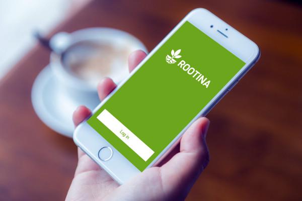 Sample branding #1 for Rootina