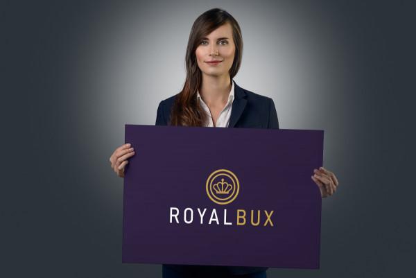 Sample branding #2 for Royalbux