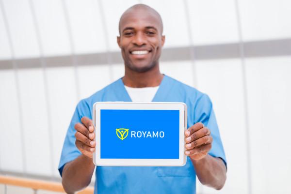 Sample branding #1 for Royamo