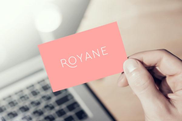 Sample branding #3 for Royane