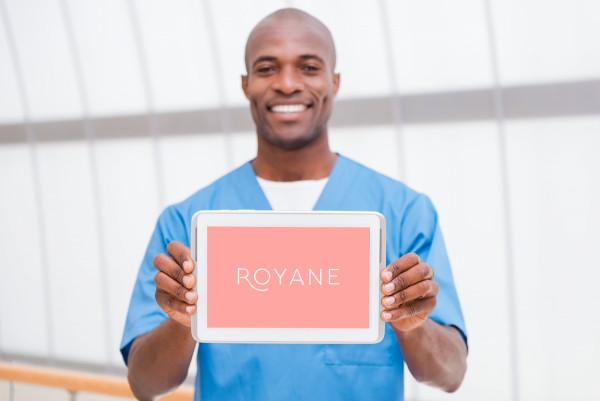 Sample branding #2 for Royane
