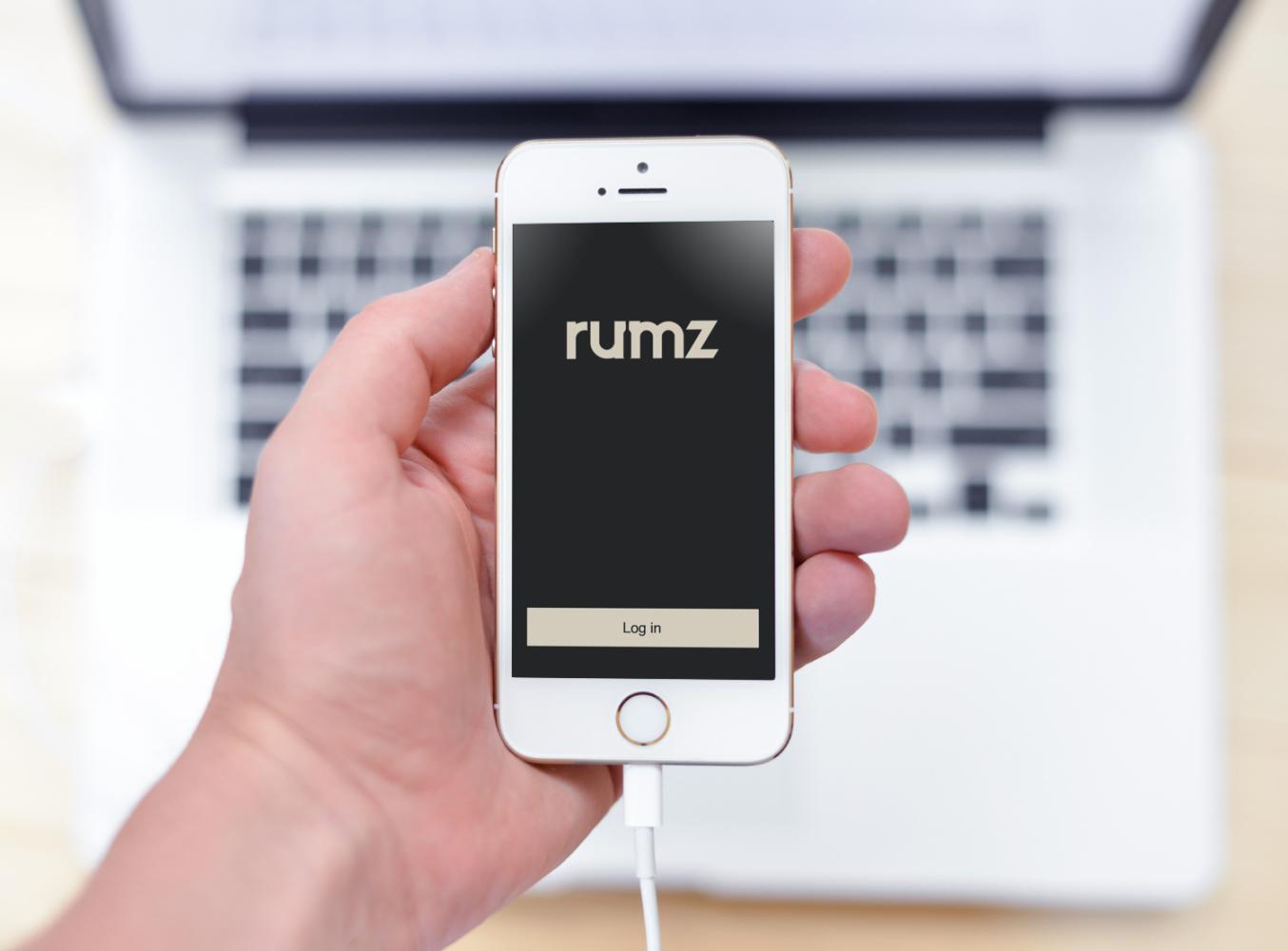 Sample branding #3 for Rumz