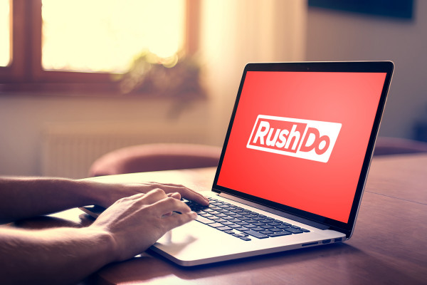 Sample branding #2 for Rushdo