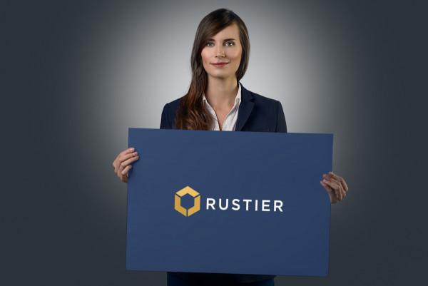 Sample branding #1 for Rustier