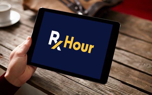 Sample branding #1 for Rxhour