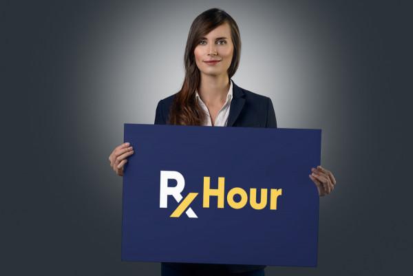 Sample branding #3 for Rxhour
