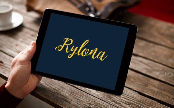 Sample branding #3 for Rylona