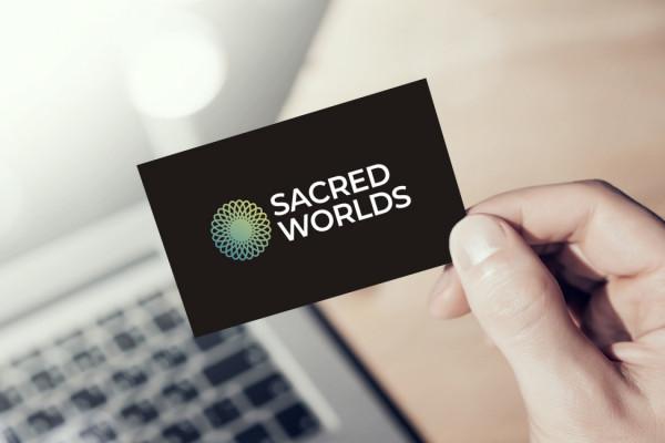 Sample branding #1 for Sacredworlds