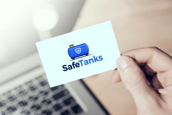Sample branding #2 for Safetanks