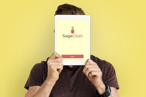 Sample branding #2 for Sagecloth