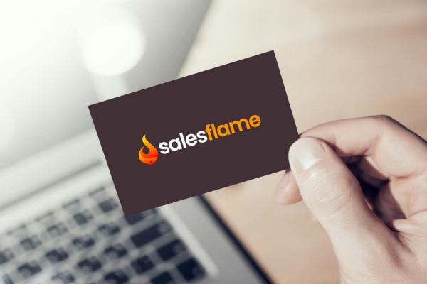 Sample branding #1 for Salesflame