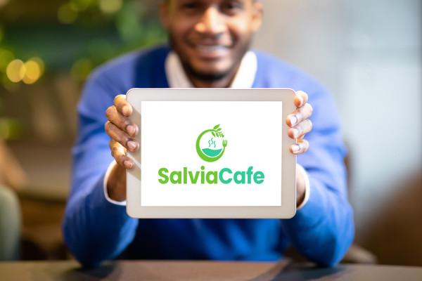 Sample branding #1 for Salviacafe