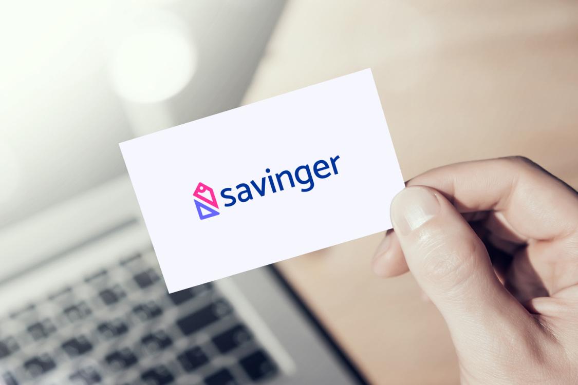 Sample branding #1 for Savinger