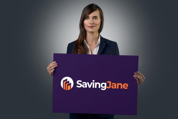 Sample branding #3 for Savingjane