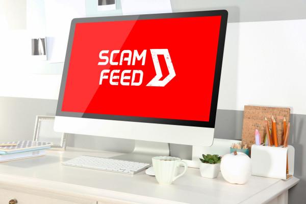 Sample branding #1 for Scamfeed