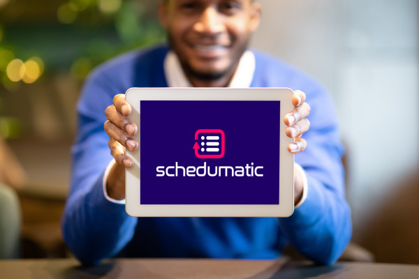 Sample branding #3 for Schedumatic