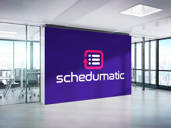 Sample branding #2 for Schedumatic