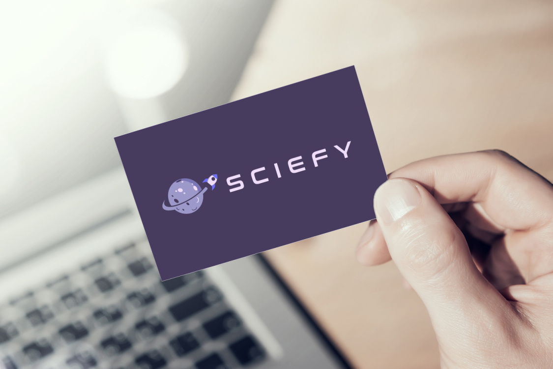 Sample branding #2 for Sciefy