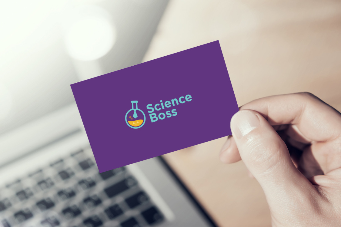 Sample branding #3 for Scienceboss