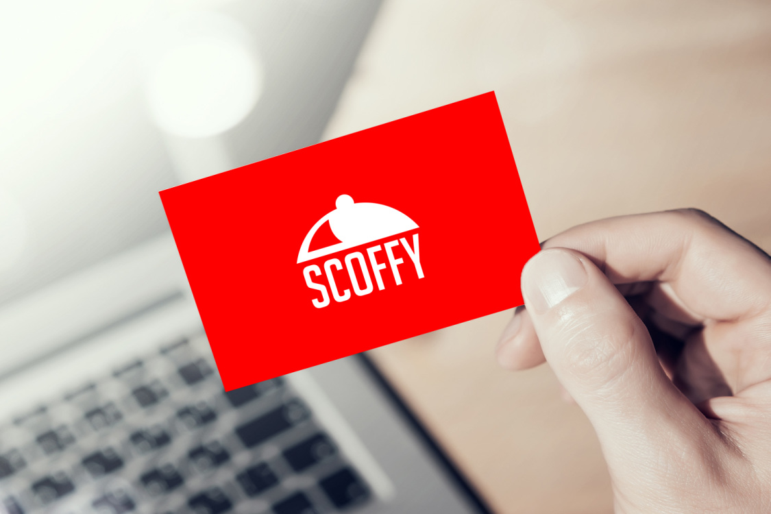 Sample branding #1 for Scoffy