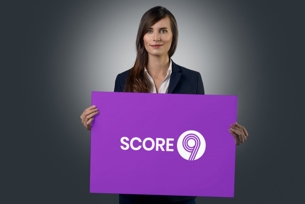 Sample branding #3 for Score9
