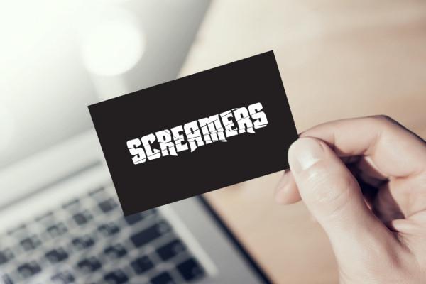 Sample branding #2 for Screamers
