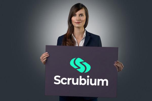 Sample branding #1 for Scrubium