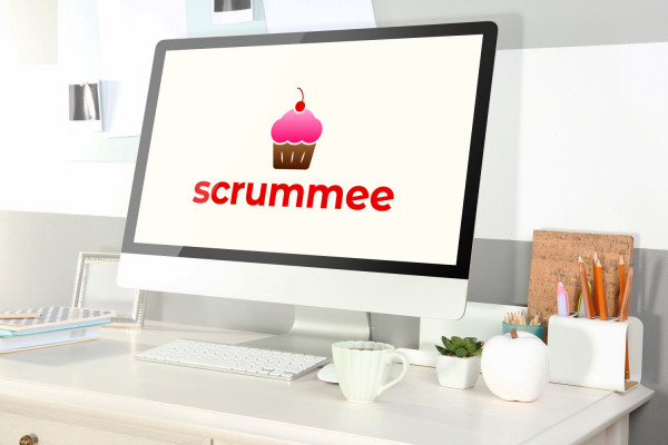 Sample branding #3 for Scrummee
