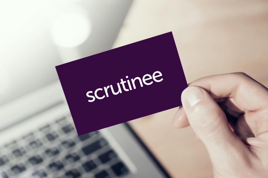 Sample branding #1 for Scrutinee