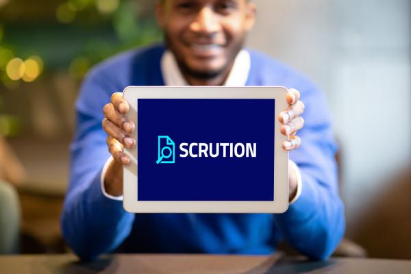 Sample branding #2 for Scrution