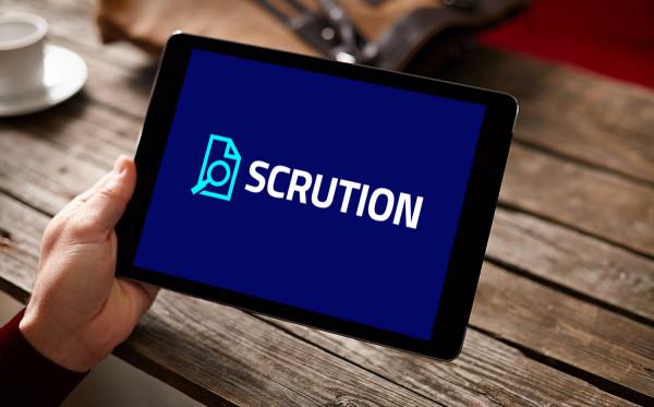Sample branding #1 for Scrution