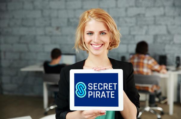 Sample branding #2 for Secretpirate