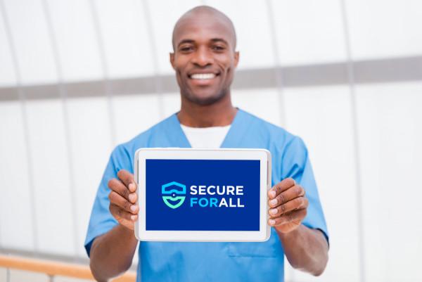 Sample branding #2 for Secureforall