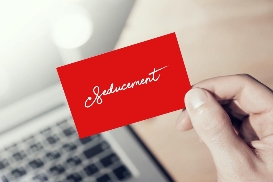 Sample branding #3 for Seducement