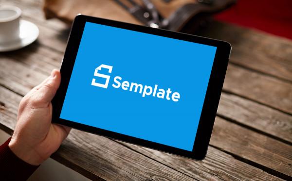 Sample branding #1 for Semplate