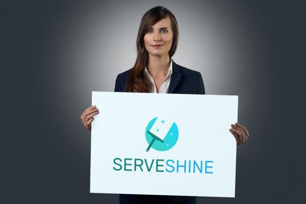 Sample branding #2 for Serveshine