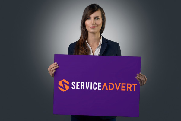 Sample branding #3 for Serviceadvert