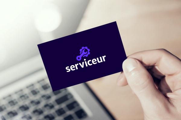 Sample branding #3 for Serviceur