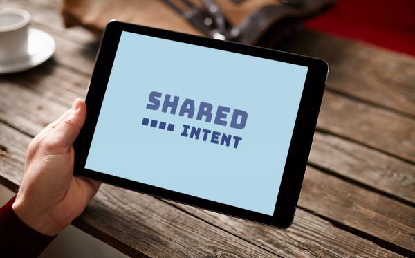 Sample branding #3 for Sharedintent