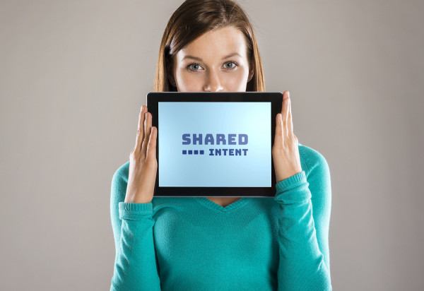 Sample branding #1 for Sharedintent