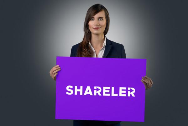 Sample branding #2 for Shareler
