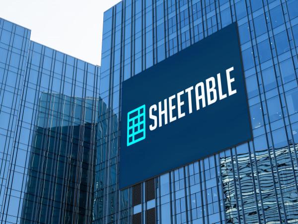 Sample branding #3 for Sheetable