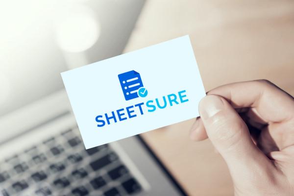 Sample branding #3 for Sheetsure