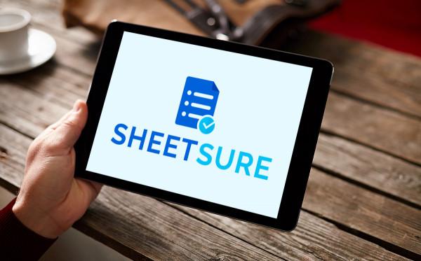 Sample branding #1 for Sheetsure
