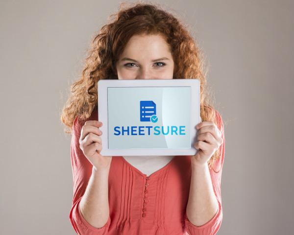 Sample branding #2 for Sheetsure