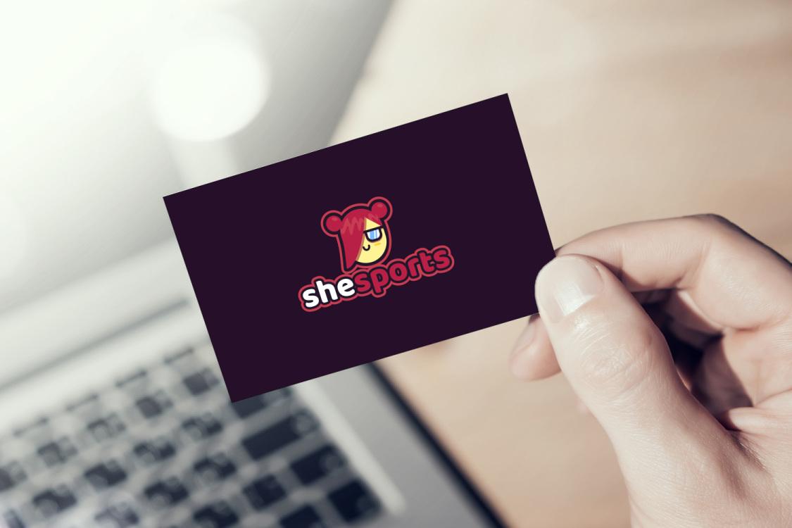 Sample branding #1 for Shesports