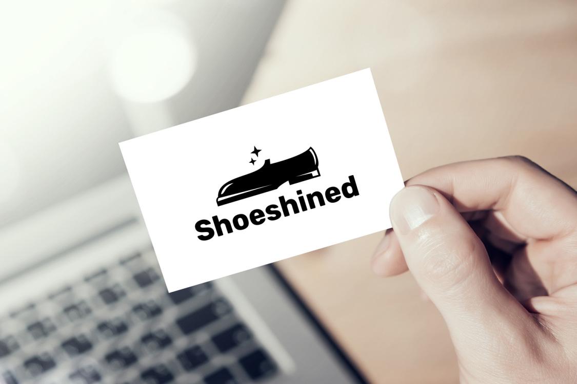Sample branding #2 for Shoeshined