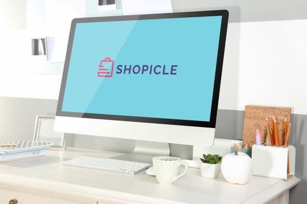 Sample branding #2 for Shopicle