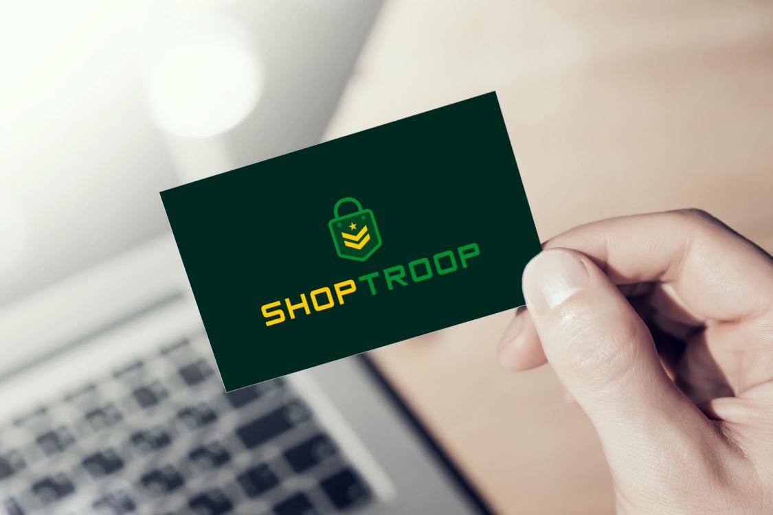 Sample branding #1 for Shoptroop