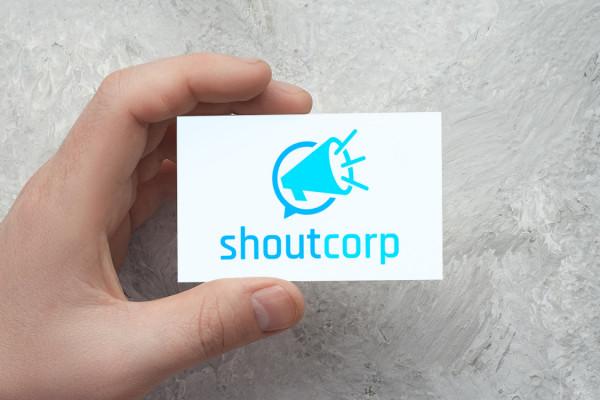 Sample branding #3 for Shoutcorp